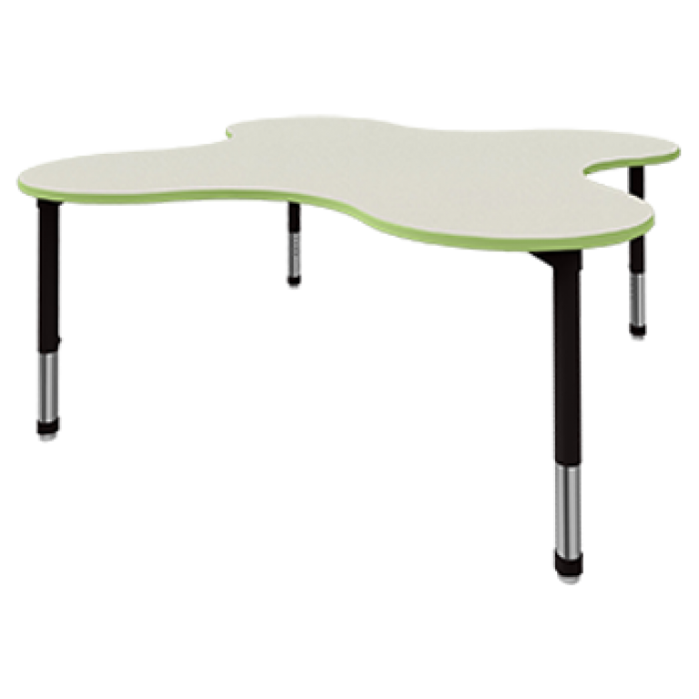 puddle shape table