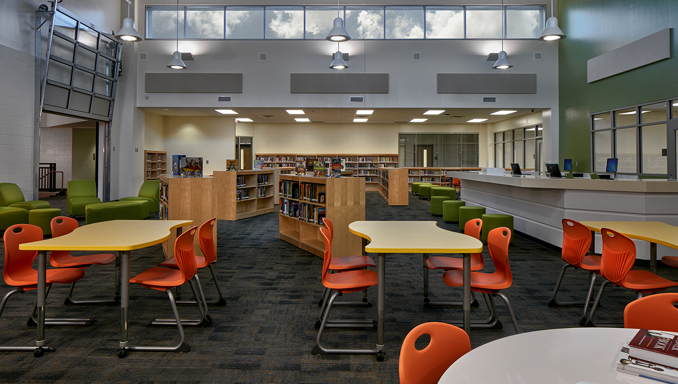 McNair_Middle_School_mediacenter